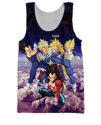 New arrive dragon ball z tank tops forms of vegeta 3d tank top fitness vest 3d.jpg 250x250