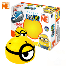 DESPICABLE ME RC Induction Car  Runing Away MINION Model Electric Toys Robot Child RC Car  Creative funny Flashing Toys