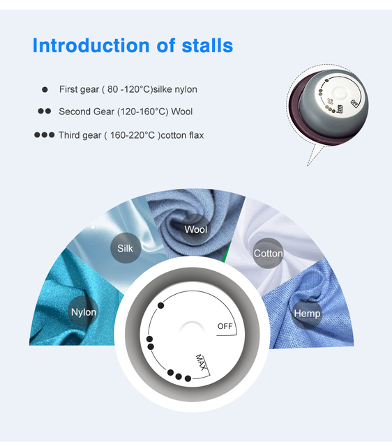 Household Appliances Vertical Steamer Vertical Steamer with Steam Irons Brushes Iron for Ironing Clothes for Home 220V