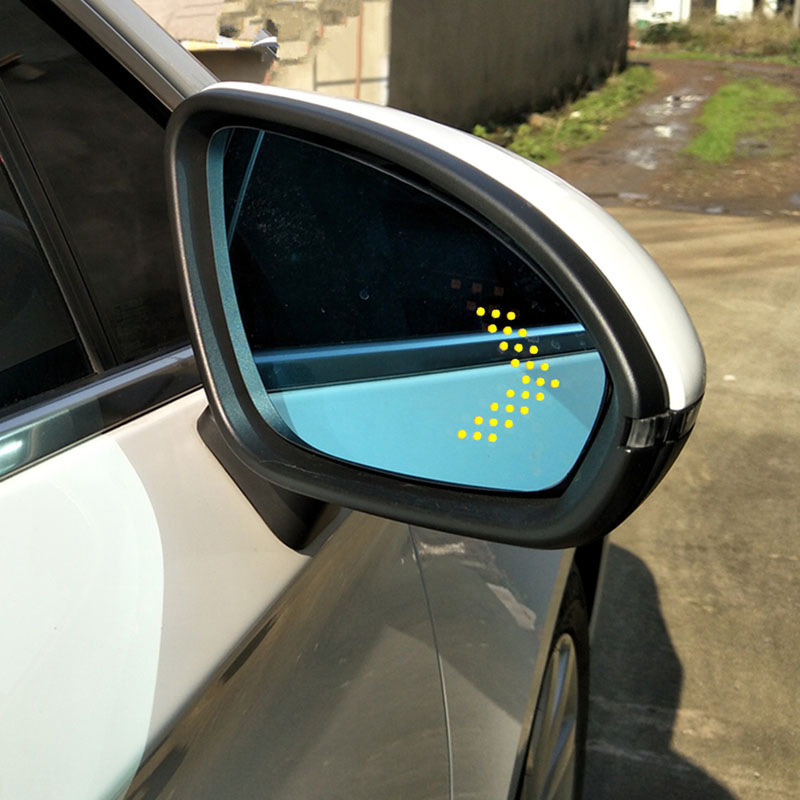 Мощность с подогревом синий широкий угол зрения боковое зеркало заднего вида очки для Buick Verano 2015-2017