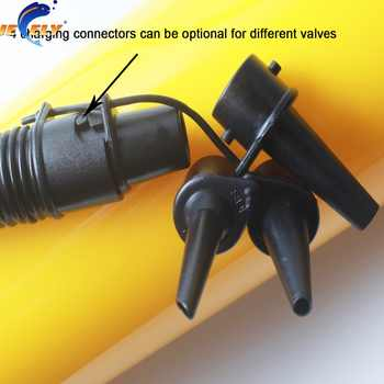 Jeely 2 kinds of Plastic Inflate Pump With or Without Pressure Instrument For Kitesurfing Kiteboarding Kite
