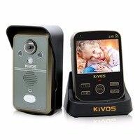 3,5 дюйма Беспроводной домофон Smart видеодомофон Камера дверной звонок дистанционного Управление видео телефон двери для квартиры дома