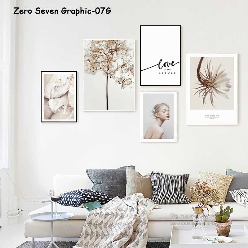 Fashion Girl Epiphyllum Canvas Painting Poster And Print Living Room Bedroom Picture Art Wall Home Decoration