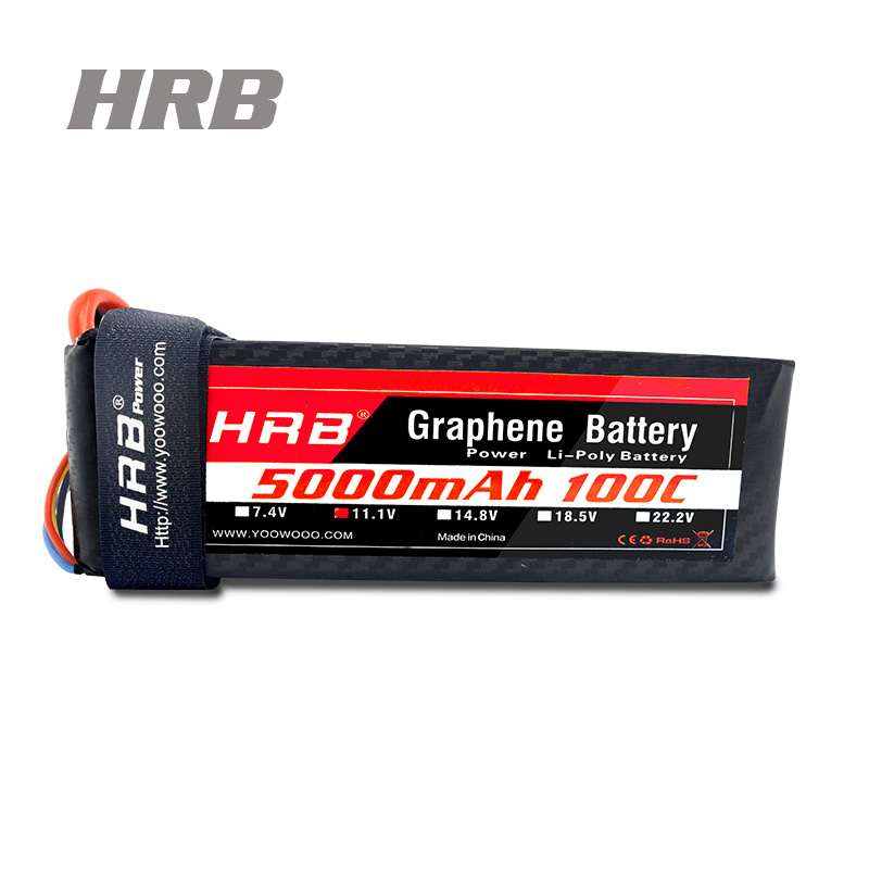 High Discharger Rate HRB Lipo Battery 2S 3S 4S 5S 6S 7 4V 11 1V 14