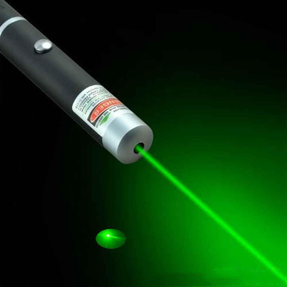 גבוהה כוח לייזר נקודה אדום/כחול סגול/ירוק לייזר 5 mW עוצמה מגיש לייזר עט קרן גלויה אור עוצמה ללא סוללה