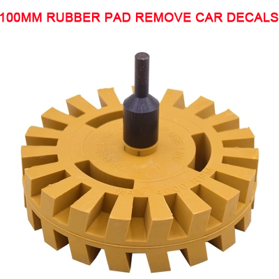 4,000 RPM Car Wheel Pad Sticker Removal Tool Pinstripe Decal Eraser Clean Tool