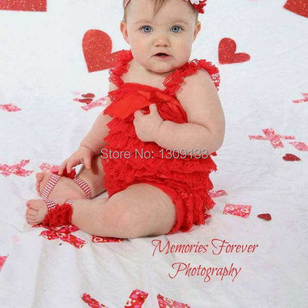 f3e7558837c1 Baby girl Valentine s newborn red outfit