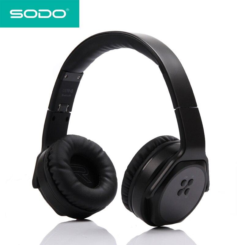 Sodo Mh5 Bluetooth Headphone Twist Out Speaker Bluetooth 4: SODO MH3 Bluetooth Headphone Twist Out Speaker Bluetooth 2