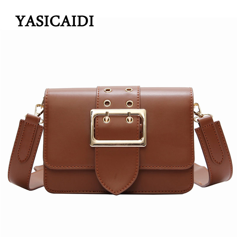 High Quality PU Leather Bag Women Crossbody Bags Fashion Matte Bags Women Messenger Bags Designer Ladies Shoulder Handbags 2018 bailar fashion women shoulder handbags messenger bags button rivets totes high quality pu leather crossbody famous brand bag