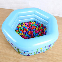 цена на 130cm Children Bathing Tub Baby Home Use Paddling Pool Inflatable Square Swimming Pool Kids Inflatable Pool Freeshipping