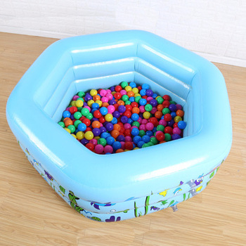 130cm Children Bathing Tub Baby Home Use Paddling Pool Inflatable Square Swimming Pool Kids Inflatable Pool Freeshipping