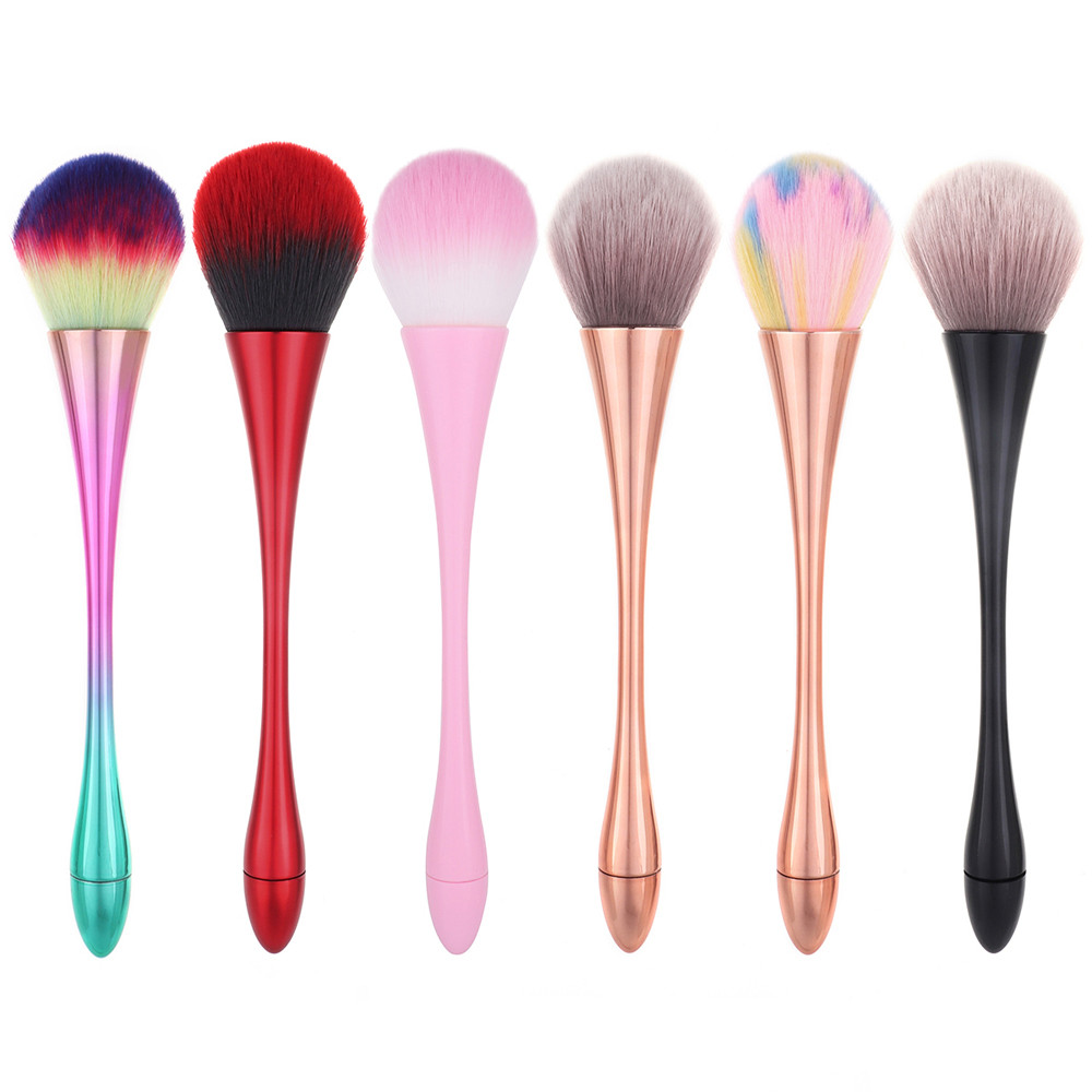 OutTop Makeup 1PCS  Makeup Brush  Large Soft Beauty Powder Big Blush Flame Brush Foundation Cosmetic Brushes   Tool 2018 DEC 04(China)