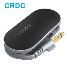 Crdc передатчик Bluetooth мини Мощный портативный беспроводной стерео аудио Музыка передатчик с A2DP для планшетных ПК TV IPOD MP3