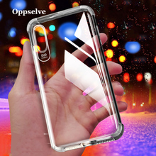 Oppselve Shockproof Case For iPhone X 6 6S 7 8 Plus Phone XS Max XR Covers Clear Soft Silicone TPU Coque Capa