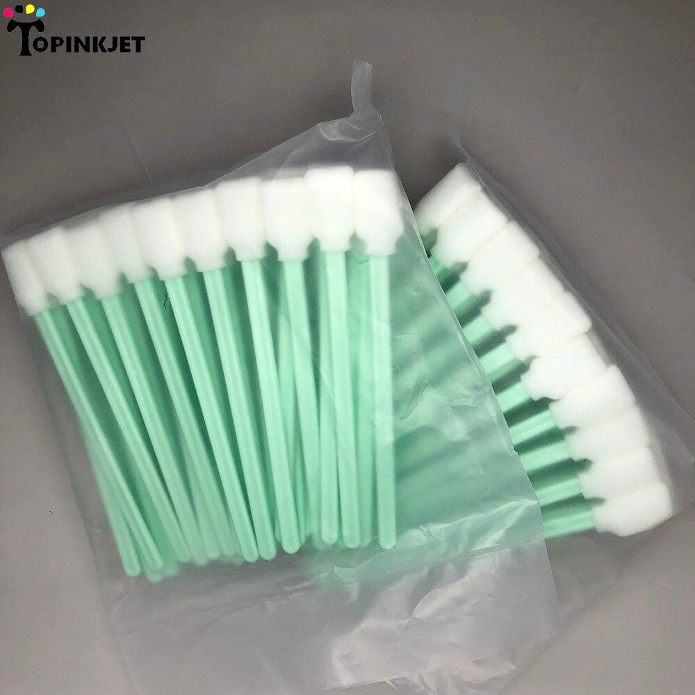 50 Pcs Foam Cleaning Swab for Epson Roland Mimaki Mutoh Printer Printhead Swabs