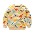 Children's t-shirt sweatshirt cotton baby spring Boys tops wear