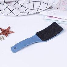 Педикюр, уход за ногами, большая наждачная бумага, рашпиль, пилочка для ног, инструменты, двухстороннее безмозглое средство для удаления твердой кожи, шлифовка кожи