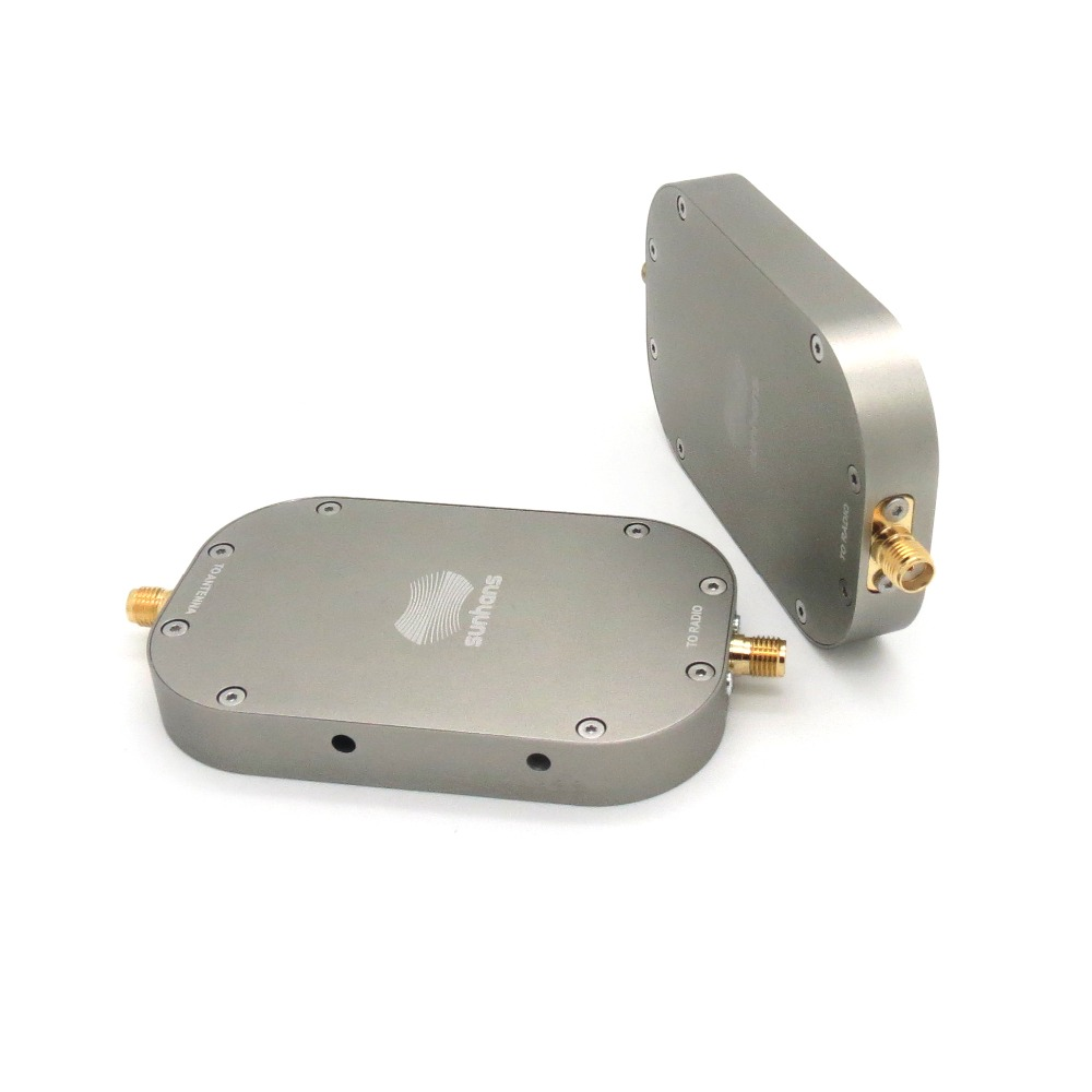 Sunhans eSunRC 2000 МВт 33dBm 2,4 ГГц и 5,8 ГГц двухдиапазонный усилитель сигнала Wi Fi Беспроводной сигнала усилительная подстанция для RC DJI Mavic Pro Drone