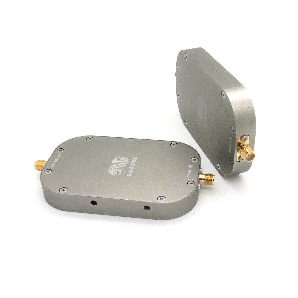 Sunhans eSunRC 2000 mW 33dBm 2.4 GHz et 5.8 GHz amplificateur de Signal sans fil double bande amplificateur d'extension de Signal WiFi pour Drone RC DJI