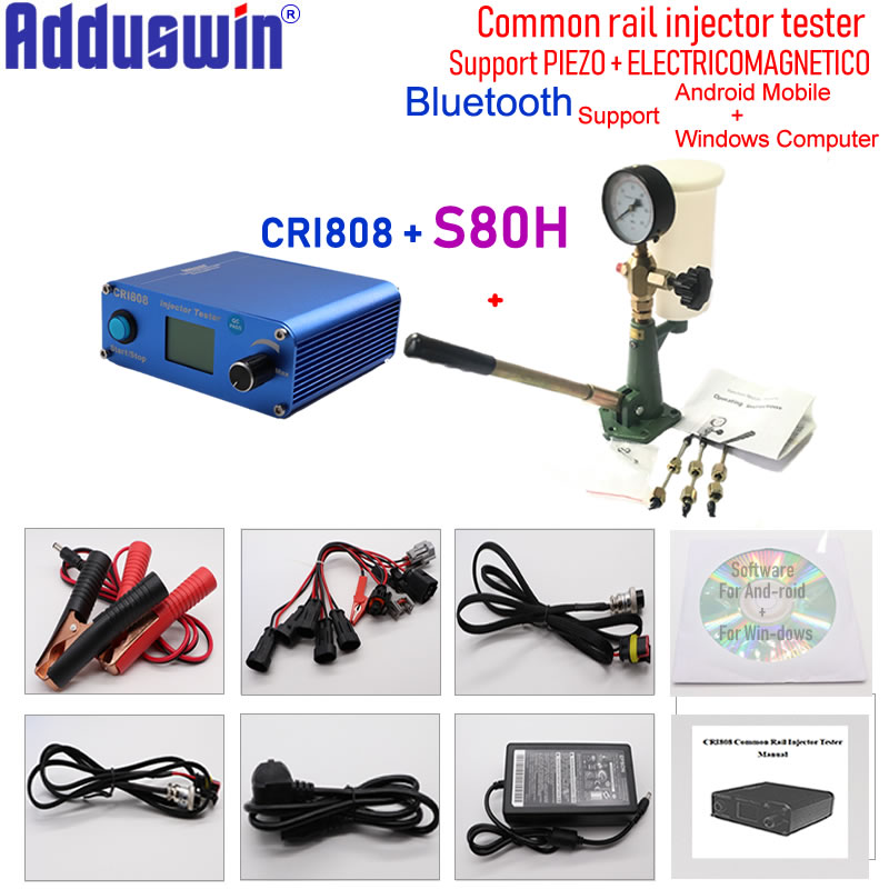Back To Search Resultshome New Arrival!s80hcommon Rail Diesel Injector Nozzle Validator Fuel Nozzle Injector Tester Good Quality,manual Diesel Booster Pump