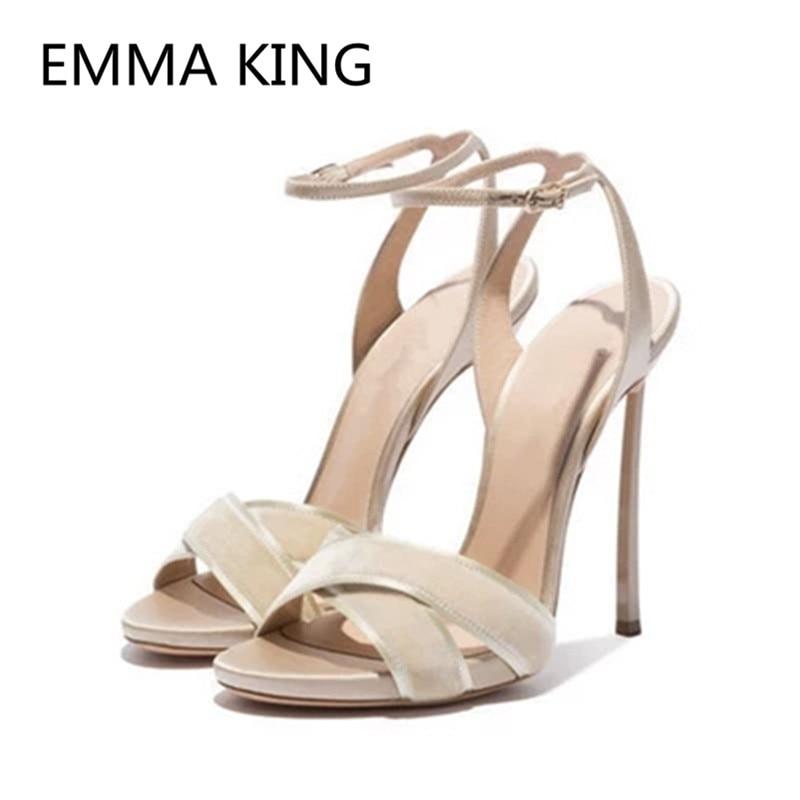 e476bd4f64b Femmes In Spartiates Classiques Picture De Élégant Picture Pour Talons  Shown Stilettos Hauts As À Dames Souliers Courroie Femme as Chaussures  Sandales Mode ...