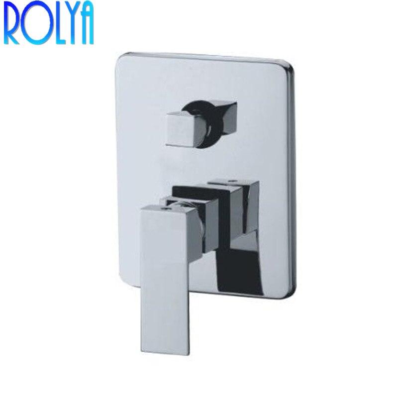 Mélangeurs de douche à deux fonctions pour salle de bain