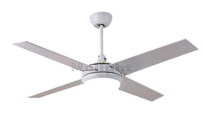 Simple Remote Control LED Ceiling Fans With Lights Kits