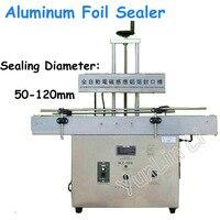 Automatic Sensing Cap Sealing Machine 50 120mm Diameter Continuous Bottle Sealer Electromagnetic Foil Sealing Machine GLF