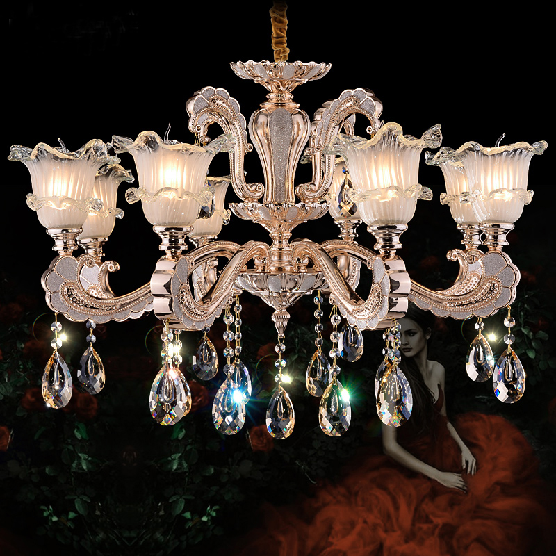 Modern Chandelier Living Room Light Gold Crystal Chandelier Lighting Nordic Modern Lamp Ceiling Crystal Chandeliers Bedroom Lamp restaurant white chandelier glass crystal lamp chandeliers 6 pcs modern hanging lighting foyer living room bedroom art lighting
