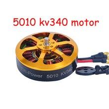 1/4 Pcs Brushless Outrunner Motor 5010 340KV 280KV para a Agricultura Drone Avião RC para a Venda