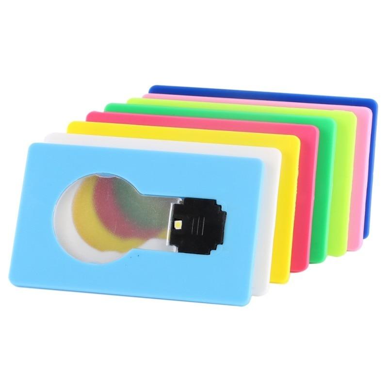 Portable Mini Lighting Wallet LED Card 9