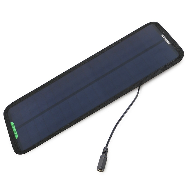 ALLPOWERS 18V 7.5W Solar Charger Solar Panel Battery Maintainer Charging for Car Automobile Motorcycle Tractor Boat Battery.