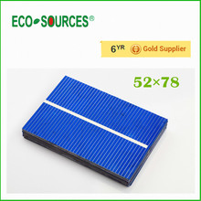 40pcs 52x78mm 1 barspolycrystalline solar cell, poly solar cells