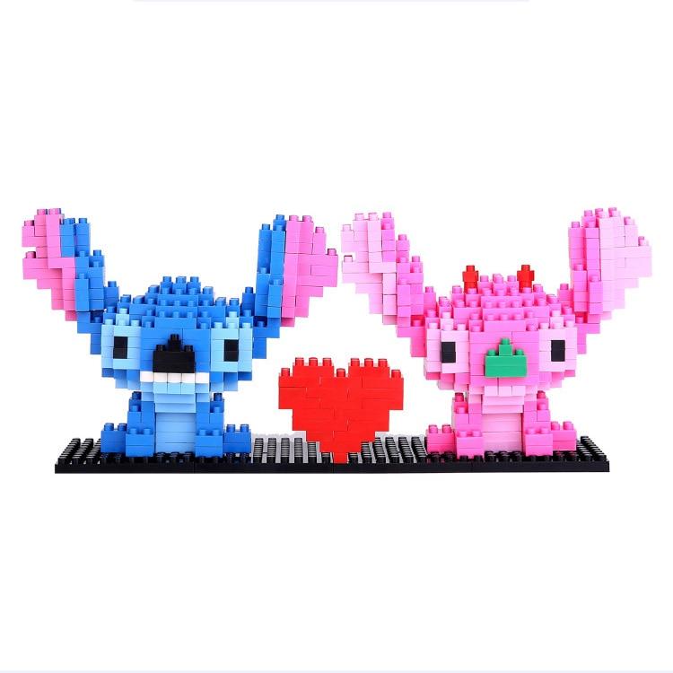 Balody Peter Rabbit Benjamin Lily DIY Diamond Mini Building Nano Blocks Toy 3pcs