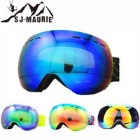 Winter Outdoor Sport Anti fog Skiing Goggles Double UV400 Layers Goggles Ski Large Spherical Goggles Men Women Sonwboard Goggles
