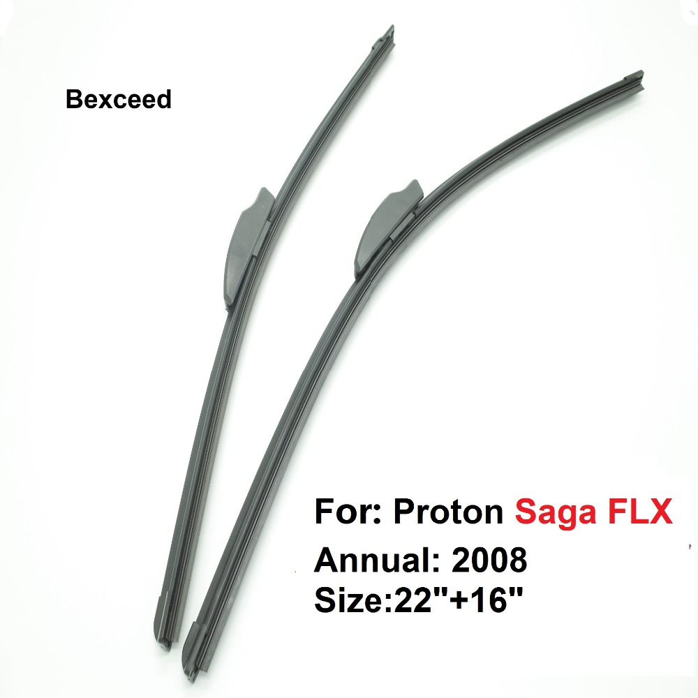 Set  U Hook Car Windshield Universal Flat Wiper Blade for Proton