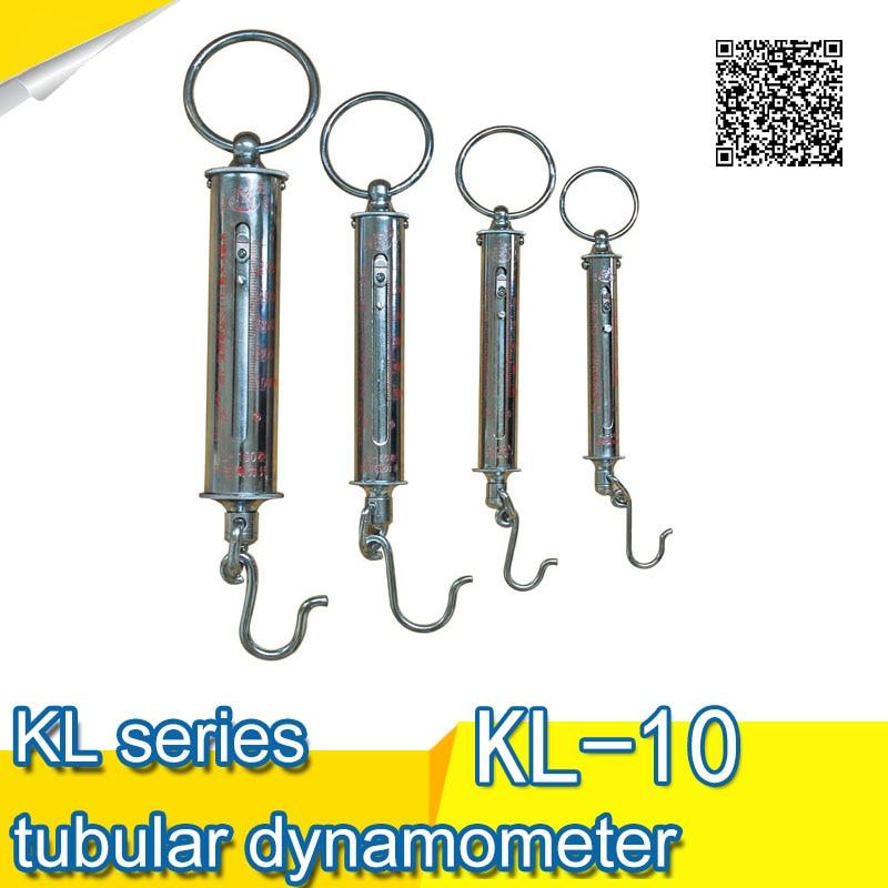 Free shipping KL series tubular dynamometer KL-10 (100N) Force Gauge aomis page 9