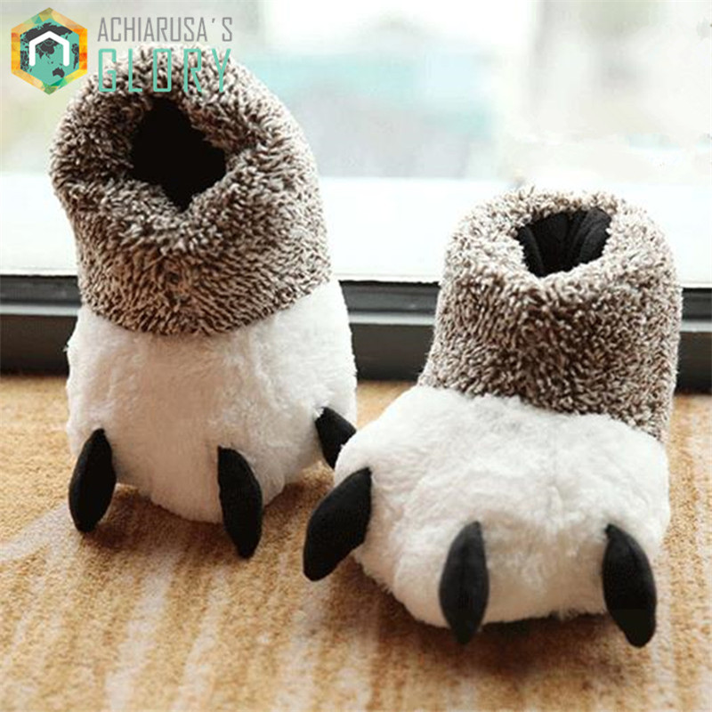 funny adult slippers