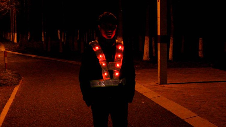 SPARDWEAR EN471YELLOW Hi vis 16 LED Light