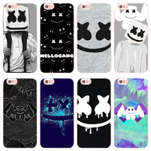 MaiYaCa DJ Marshmello case for iphone 8 plus For X 8plus Ultra Thin Silicone