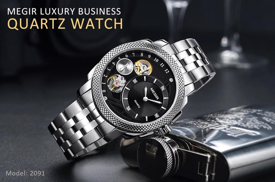 HTB1XpcMX42rK1RkSnhJq6ykdpXaU MEGIR Luxury Quartz Watches Stainless Steel Military Wrist Watch
