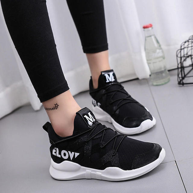haute couture vente chaude authentique une performance supérieure US $31.96 |PINSV Sneakers Women Trainers Womens Shoes Womens Tennis Shoes  Sneakers Chaussure Sport Femme Krasovki Women Size36 40 Black on ...