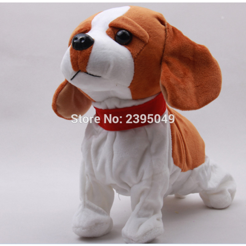 Cute Electronic Dogs Pets Sound Control Interactive Robot Toy Dogs Barks Stand Walk Electic Pet Toys Christmas Gifts For Kids