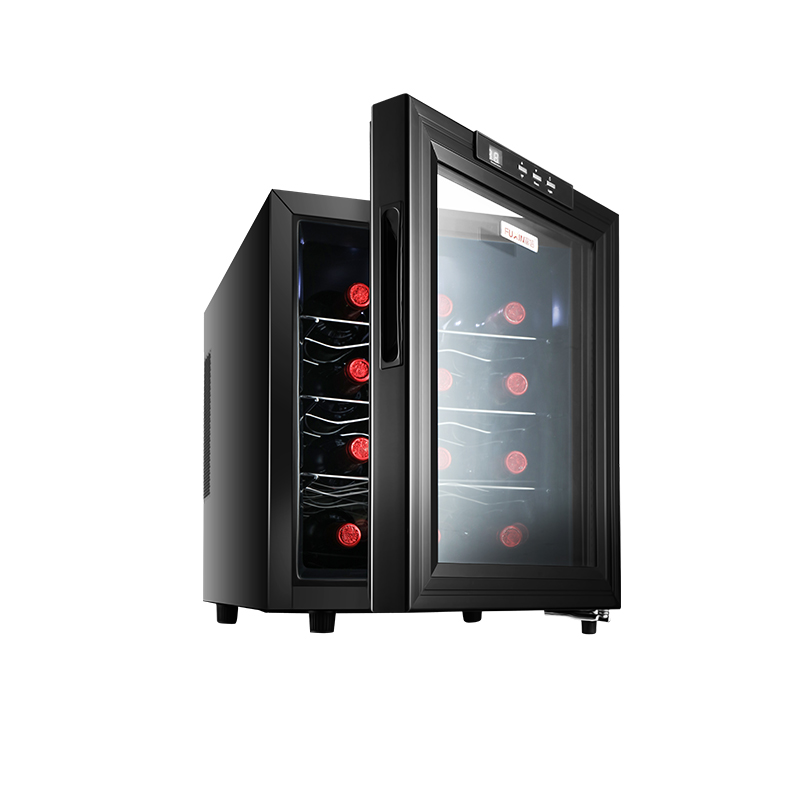 JC-33AW Red Wine Cabinet Small Domestic Wine Cabinet Ice Bar Freezer Cigar  Bar Cabinet  Display