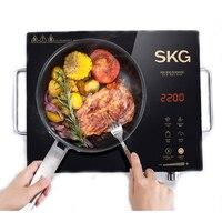 Electric Induction Ceramic Heater Cooking Tea Stove Domestic Smart Induction Cooker Light Wave Oven Desktop Stir Fried SKG1601