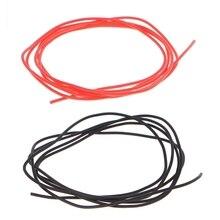 1 м 28AWG гибкий силиконовый провод RC кабель Мягкий устойчивый высокая температура#0604