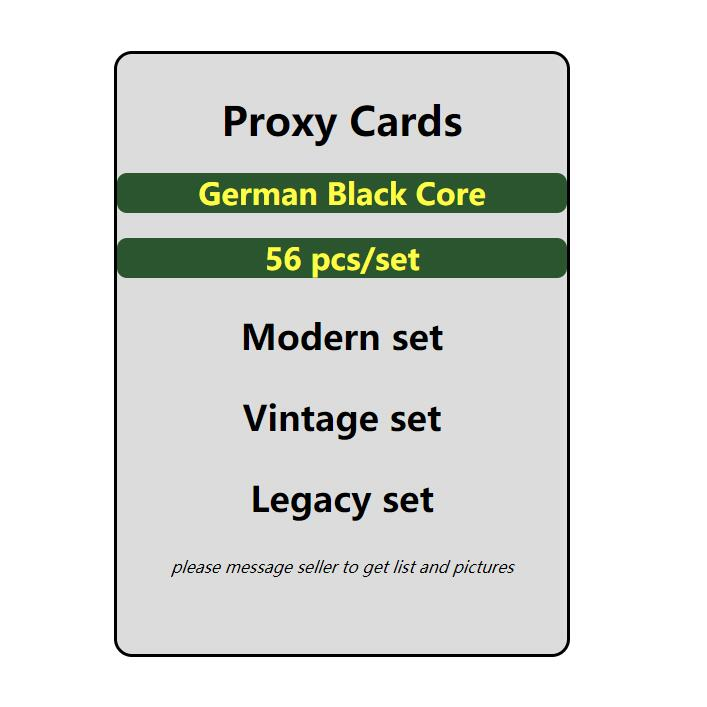 GMT cards magical proxy cards the gather Rudy alpha investment modern vintage legacy card game