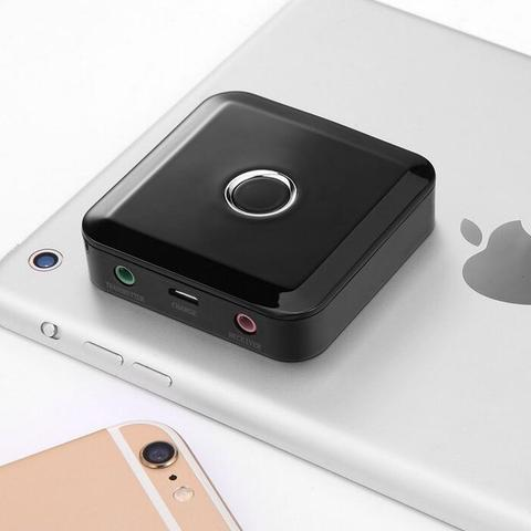 Bluetooth Wireless Adapter 4.0 Receiver Audio Transmitter Wireless Audio 3.5mm AUX for Car Music Speakers Amplifier Karachi