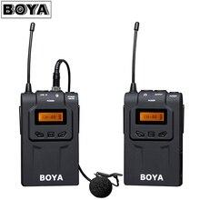 BOYA BY-WM6 UHF Беспроводной микрофон Системы всенаправленный петличный микрофон для eng EFP DV DSLR