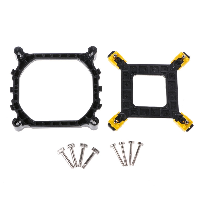 PC <font><b>CPU</b></font> <font><b>Cooler</b></font> Mounting Bracket Heatsink Holder Base Backplate Kit For Intel <font><b>115X</b></font>/1366/2011 image